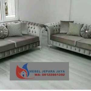 KURSI SOFA CHESTERFIELD FURNITURE JEPARA