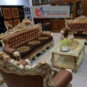 KURSI SOFA ROMAWI JATI FURNITURE JEPARA