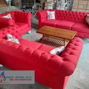 KURSI TAMU CHESTERFIELD FURNITURE JEPARA,TOKO FURNITURE JEPARA